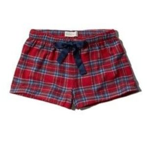 ☀️3/$10☀️ Abercrombie & Fitch Plaid Sleep Shorts